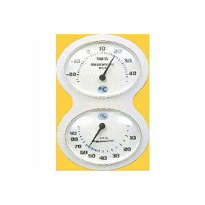 タニタ 温・湿度計 ホワイト