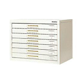 スチール製 ペーパーケース 書類整理ケース B4  7トレー