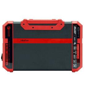 パワーポータブルバッテリー 120Ah 高出力 家電製品使用可 合計出力450W ソーラーパネル接続可 BCP 非常時 アウトドア BA-450