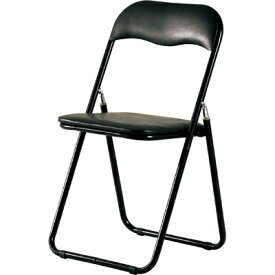 【お買得セット】パイプイス 折りたたみイス 折りたたみチェア4脚セット/PFC-9S/ブラック折りたたみ椅子 折り畳み椅子 パイプ椅子
