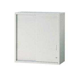 JL Storage 引違保管庫 上置用 鍵付き 幅700×奥行400×高さ750mm 【ホワイト】/PL-JL-A75S-WH