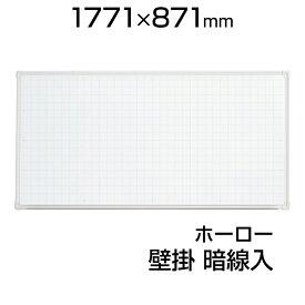 プラス ホワイトボード LB2 壁掛け ホーロー 暗線 1800×900 マグネット対応 マーカー付き イレーサー付き VI-LB2-360SHWG PLUS 180cm 90cm 1800mm 900mm ホワイト ボード アルミ ニッケルホーロー ガラスコーティング