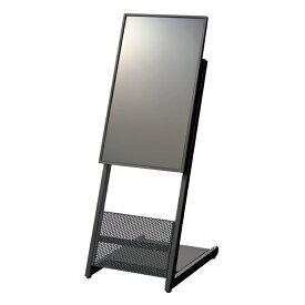 PLUS(プラス) いますぐサイネージ32型ディスプレイ スタンドセット 幅440×奥行608×高さ1285mm 電子案内板 メディアを挿すだけの簡単再生