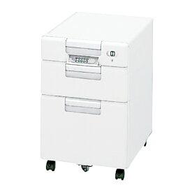 PLUS LINX LX-1e/LX-1/LX-2 サイドキャビネット (テンキーロックタイプ) 幅396×奥行580×高さ610mm LX-046SX-3-W4
