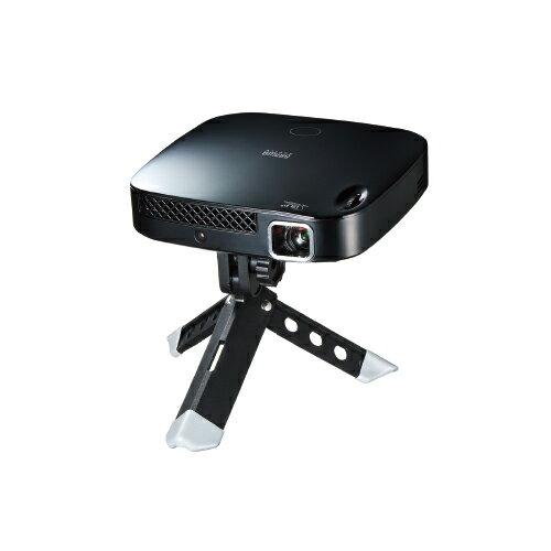 サンワサプライ 高輝度モバイルプロジェクター(300ルーメン・台形補正・バッテリー内蔵) スマートフォン対応HDMI端子付き PRJ-6