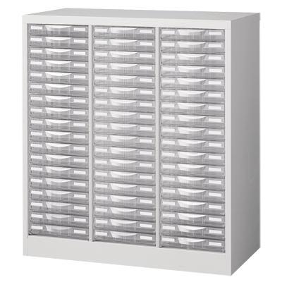 【完成品】【日本製】A4判書類整理ケース床置型(ホワイト)スチール製(プラスチック引出し)A4W-P318Sレターケース A4ファイル 文書棚 整理棚 書類収納 引き出し 引出し プラスチック 書類棚 書類ケース