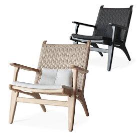 【ナチュラル:2月中旬入荷予定】Comfy(コンフィー) Natural Line/Black Line Cider Loungechair (シードル ラウンジチェア) 木製イス タモ材 幅680×奥行740×高さ830mm SK-Cider