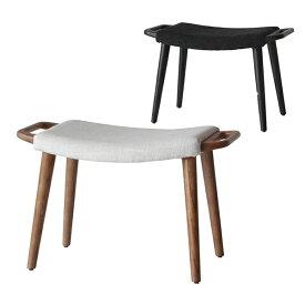 【ナチュラル:2月上旬入荷予定】Comfy(コンフィー) Natural Line/Black Line Cider Loungestool (シードル ラウンジスツール) 木製イス タモ材 幅650×奥行350×高さ390mm SK-CiderS