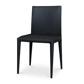 【2月中旬入荷予定】Comfy(コンフィー) Black Line PenII Chair (ペンII チェア) スチールレザーイス 肘なし 幅450×奥行540×高さ805mm 座面高さ450mm SK-Pen
