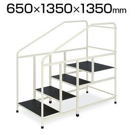 高田ベッド 階段歩行練習 手すり付き 滑り止めゴムマット付き TB-1185 歩行階段SD