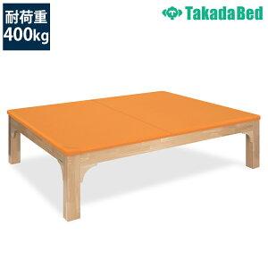高田ベッド 訓練台 TB-1246 プラットモクマット 環境配慮 メルクシパイン材 オール木仕様 低臭ニス採用 サイズ/カラー(18色)選択可能
