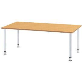 ダイニングテーブル/幅1800×奥750mm メッキ脚タイプ/MYT-1875M