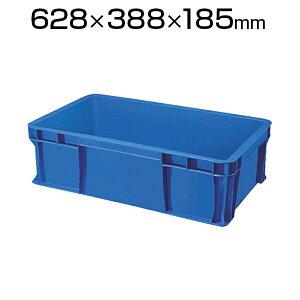 TRUSCO TS型 リサイクルコンテナ33L ダークブルー TR-TS33コンテナ トラスコ コンテナボックス 収納 収納ボックス 物流 保管用品 流通 倉庫作業 工場用品 整理保管箱 通い箱 通函 おしゃれ