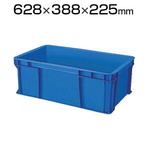 TRUSCO TS型 リサイクルコンテナ40L ダークブルー TR-TS40コンテナ トラスコ コンテナボックス 収納 収納ボックス 物流 保管用品 流通 倉庫作業 工場用品 整理保管箱 通い箱 通函 おしゃれ