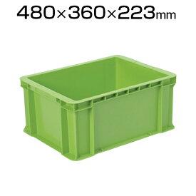TRUSCO グリーンコンテナ 27L グリーン DA-28-GRコンテナ トラスコ コンテナボックス 収納 収納ボックス 物流 保管用品 流通 倉庫作業 工場用品 整理保管箱 通い箱 通函 おしゃれ