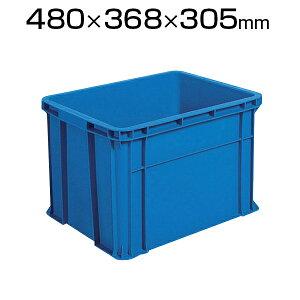 TRUSCO リサイクルコンテナ40L ダークブルー TRST40コンテナ トラスコ コンテナボックス 収納 収納ボックス 物流 倉庫 保管用品 流通 倉庫作業 工場用品 整理保管箱 通い箱 通函 おしゃれ 40L