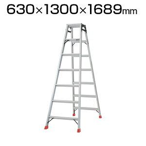 TRUSCO ハシゴ兼用脚立 アルミ合金製脚カバー付 高さ1.69m プロ仕様タイプ TPRK-180トラスコ中山 はしご 梯子 脚立 はしご兼用脚立 踏み台 ステップ数5段 おしゃれ 足場 現場 機材 業務用 踏台 階