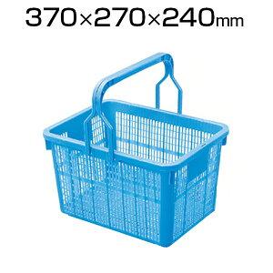 DIC 角型採集カゴ KSKG-B バスケット 工場 物流 保管用品 22L 農業 農作業 収穫 メッシュコンテナ 採集籠 採集かご 籠 収穫かご