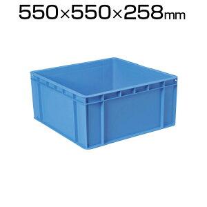 DIC PC型コンテナPC-60 幅550×奥行550×高さ258mm ブルー