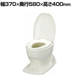 ウェルファン サニタリエースOD据え置き式 補高#8/アイボリー 和式トイレを洋式に 簡易トイレ 介護 トイレ 便座 便座クッション 介護用品 座面80mm高い