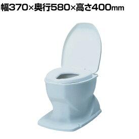 ウェルファン サニタリエースOD据え置き式/Lブルー 和式トイレを洋式に 簡易トイレ 介護 トイレ 便座 便座クッション 介護用品