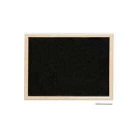 ウッドブラックボード 黒板 壁掛け 軽量 600×450mm マーカー付属 マグネット使用可能 吊金具付属 IR-NBM-46 学校 幼稚園 お店 美容院 美容室 喫茶店 カフェ テラス メニューボード 木製