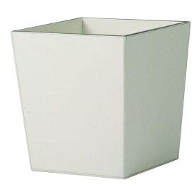 送料無料【器 レザー・プランター L】(ホワイト:WH)適応鉢:懸崖11号/RP-300鉢カバー