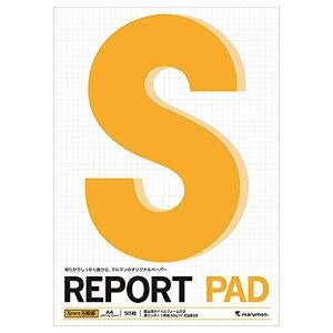 マルマン レポートパッド a4 方眼罫 厚口レポート用紙 p144a マルマン 4979093144020