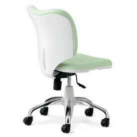 PLUS(プラス)オフィス家具 Prop ブライトタイプ(本体色・ホワイト) 肘なし 標準仕様ナイロンキャスター W(幅)586 D(奥行き)576 H(高さ)