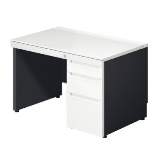 PLUS(加)桌子/标准桌子/STAGEO(一行动型)、sutejio单一袖子桌子ST-117L-P4 WS/BK