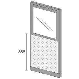 PLUS(プラス)オフィス家具 KIパネル(光触媒クロス) コンビパネル H1825 W(幅)900 D(奥行き)50 H(高さ)1825