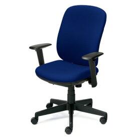 PLUS(プラス)オフィス家具 Presea ブラックシェルタイプ ハイバック アジャスト肘付 W(幅)610 D(奥行き)582 H(高さ)