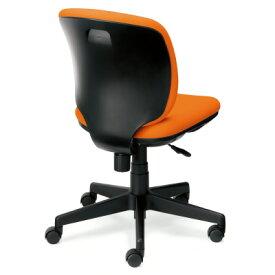 PLUS(プラス)オフィス家具 Presea ブラックシェルタイプ ローバック 肘なし W(幅)610 D(奥行き)560 H(高さ)