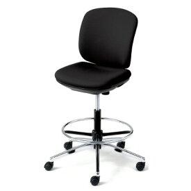 PLUS(プラス)オフィス家具 Presea ブラックシェルタイプ ローバック 肘なし ハイタイプ W(幅)668 D(奥行き)560 H(高さ)