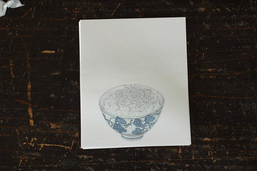 倉敷意匠 赤飯堂 懐紙 24枚入(じゃこご飯) 29922-05