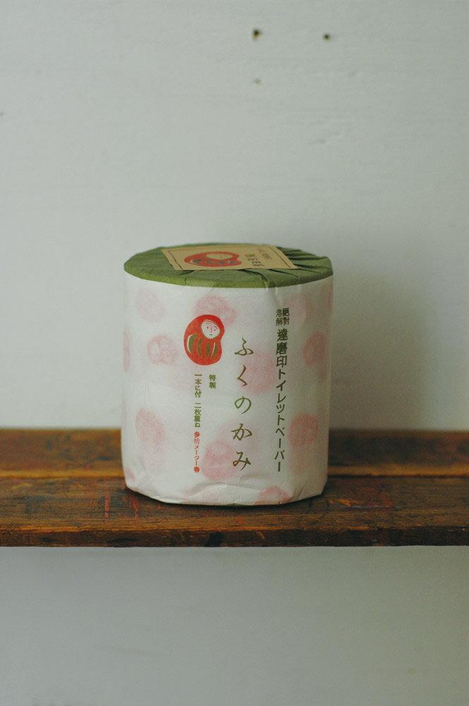 倉敷意匠 紅達磨印トイレットペーパーふくのかみ(登録商標) 26361-01(12セット)