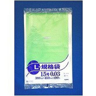 ryuguupori袋NO.15 100张装PE-0315(10套)