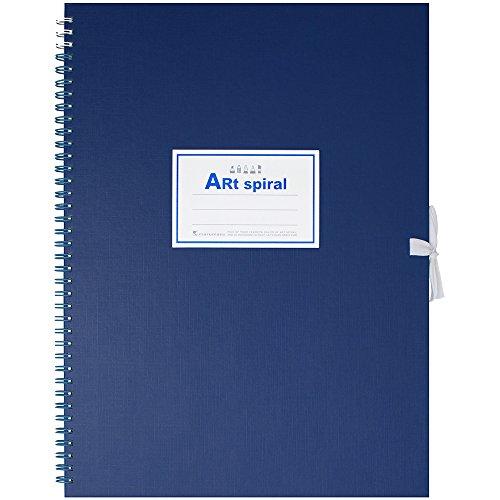 マルマン F4 スケッチブック アートスパイラル 24枚 厚口画用紙 ブルー S314-02