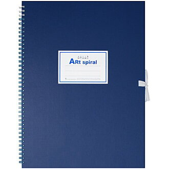 Maruman sketch book F4 blue S314-02 4979093314027
