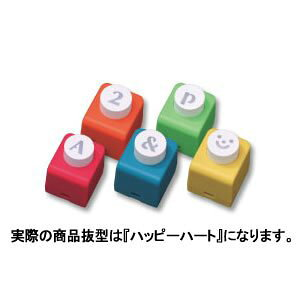 【315円×10セット】カール事務器 型抜き ミニクラフトパンチ CN12141 ハッピーハート(10セット)