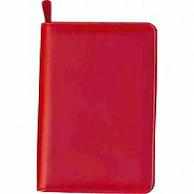 【1975円×1セット】コレクト 年金手帳ホルダー ファスナー 赤 CP-30X-RE