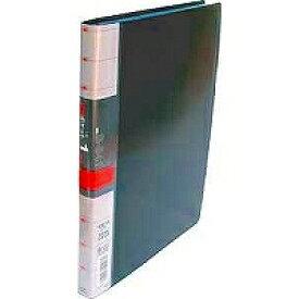 コレクト 透明ポケット1ファイル 黒 A4L30穴 S-841-BK(5セット)