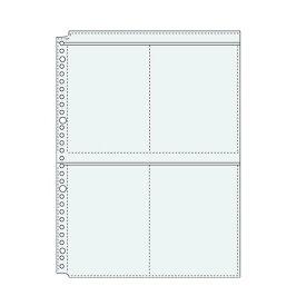 【821円×1セット】コレクト 透明ポケット2×2 A4-L 30穴 S-84220