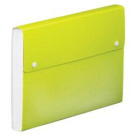 【送料無料・単価378円・40セット】キングジム ドキュメントファイル TOFFY A4 2273TF 黄緑(40セット)