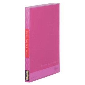シンプリーズ クリアーファイル(透明) ピンク 186TSPW キングジム 4971660023943