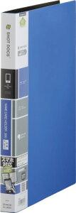 【1068円×1セット】キングジム 名刺ホルダー ショットドックス 差替式 A4 36SD 青