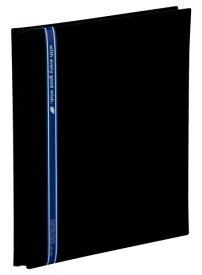 【1168円×1セット】SEKISEI アルバム フリー ハーパーハウス ミニフリーアルバム 黒台紙 20ページ 11~20ページ 布 ブラック XP-1001
