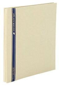 【1168円×1セット】SEKISEI アルバム フリー ハーパーハウス ミニフリーアルバム 黒台紙 20ページ 11~20ページ 布 ベージュ XP-1001