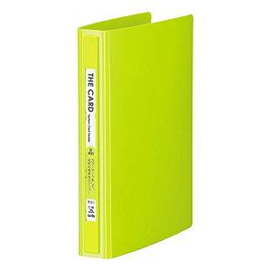【543円×1セット】セキセイ ザ カードシステムカードホルダー 差替式 名刺3段 ライトグリーン C-180