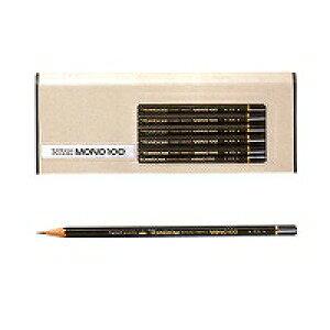 【単価2348円】トンボ鉛筆 鉛筆 モノ100 4B MONO-1004B 1ダース